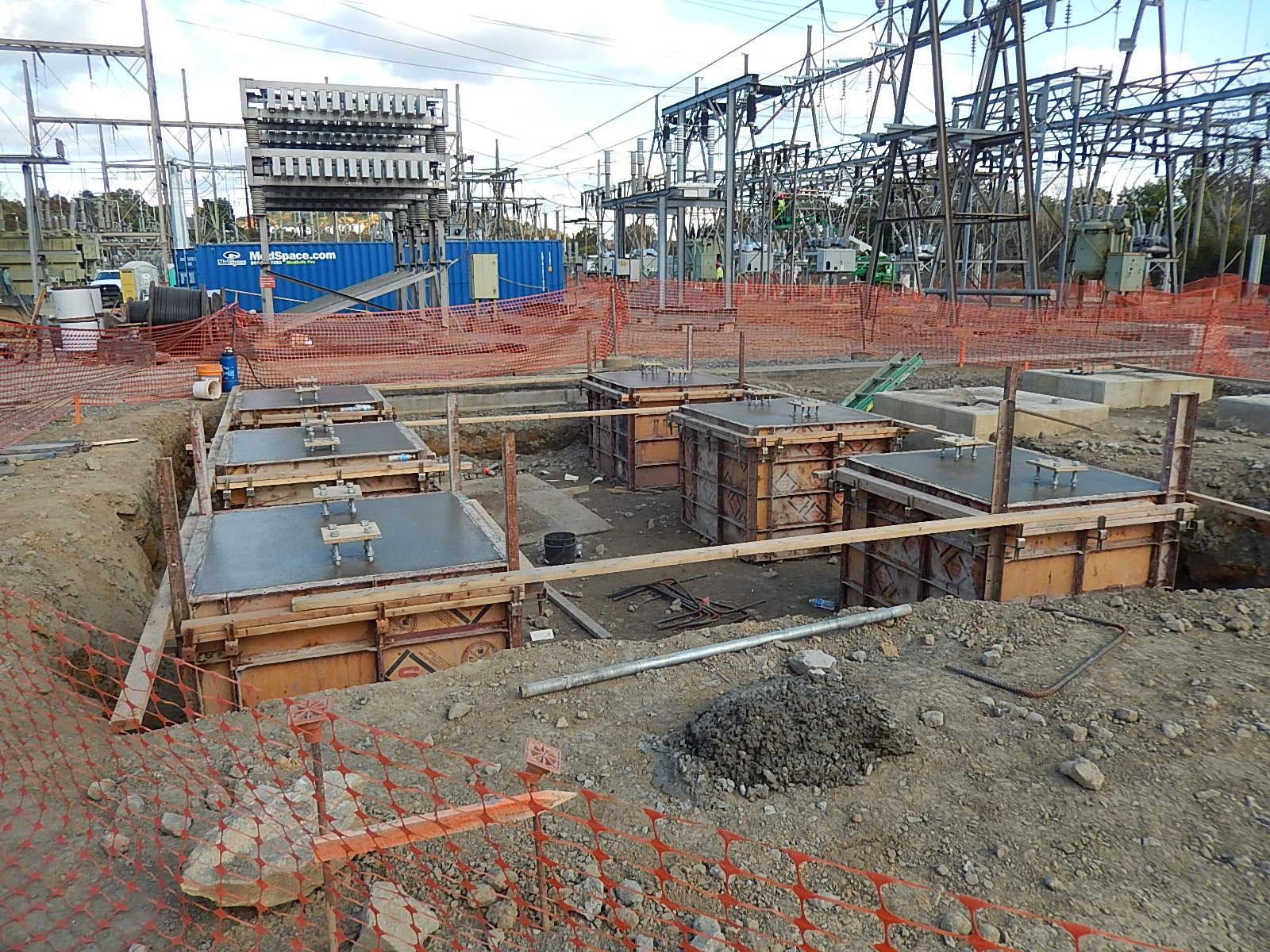 Quarry Substation J.H. Hassinger power division project.